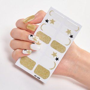 6 sheets for $20 Nail Wrap strips stickers - AF036